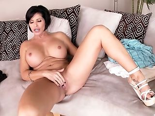 Big Tits, Blowjob, Couple, Cowgirl, Dick, Doggystyle, Fake Tits, Handjob, Hardcore, High Heels,