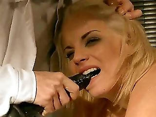 Babe, BDSM, Beauty, Big Tits, Blindfold, Blonde, Bondage, Bound, Breath Play, Caning,