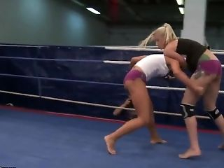 Angel Long, Big Tits, Blonde, British, Brunette, Cathy Heaven, Femdom, HD, Lesbian, Wrestling,