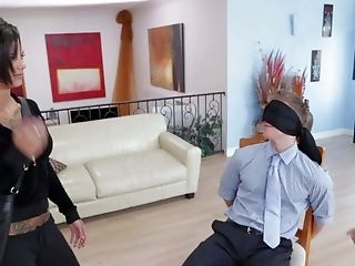 BDSM, Blindfold, Blowjob, Bondage, Bonnie Rotten, Casting, Enema, Femdom, Fetish, Gia Dimarco,