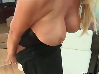 Big Tits, Blonde, Blowjob, College, HD, Huge Tits, Karen Fisher, MILF, Seduction, Teacher,